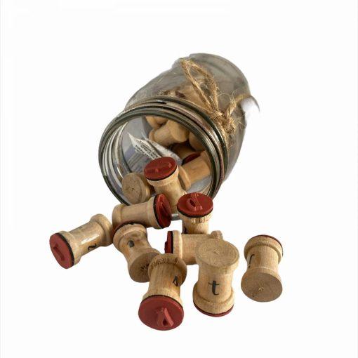 Set stampile din lemn la borcan Craft Sensations | 2 modele