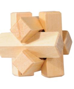 IQ Test puzzle lemn nod Fridolin 17455