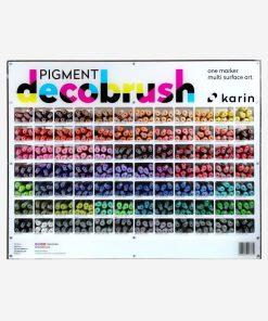 Marker Pigment Decobrush Karin   84 culori