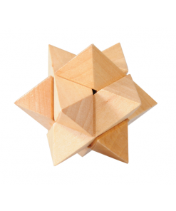 IQ Test puzzle lemn stea Fridolin 17454