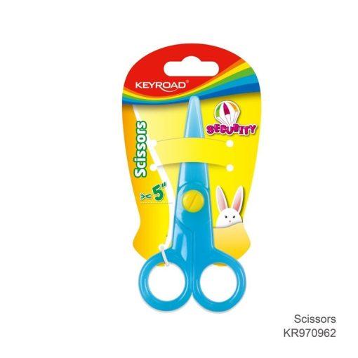Foarfeca din plastic pentru copii Keyroad | 3 culori