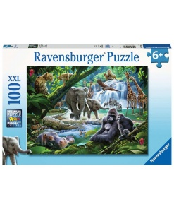 Puzzle animalele junglei Ravensburger 12 970 6