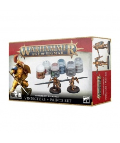 Warhammer Age of Sigmar Stormcast Eternals Vindictors + Paints Set