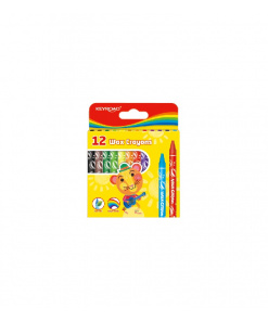 Creioane cerate mini 12/set Keyroad KR971303