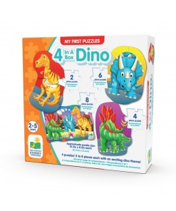 My first puzzles! 4 Dino The learning journey 629277