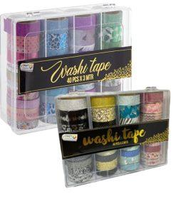 Washi tape set 40 modele Craft Sensations CR0517