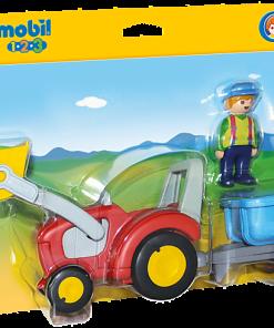 Tractor cu remorca Playmobil 6964