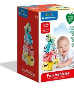 Vehicule amuzante baby Clementoni 17111