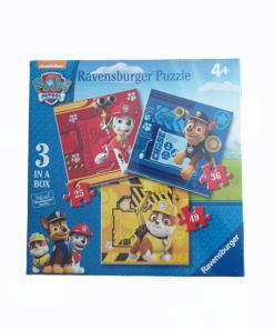 Puzzle 3 in 1 Patrula Catelusilor Ravensburger 070572
