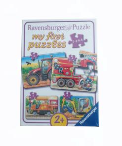 Puzzle 4 in 1 Utilaje Ravensburger 069545