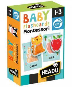 Cartonase bebelusi Montessori Headu 22700