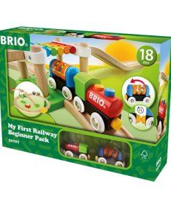 Set trenulet de lemn pentru copii Brio 33727