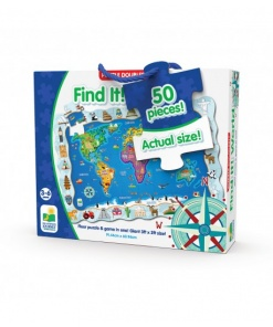 Puzzle doubles! Gaseste-l! Lumea The learning journey 600047