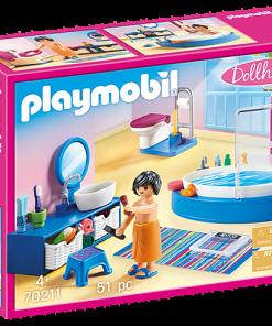 Set baie cu cada Playmobil 70211