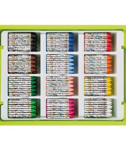Set creioane cerate groase Jolly 9500-0017