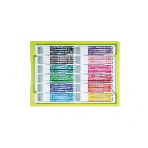 Set carioci colorate cu varf gros Jolly 9500-0001