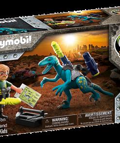Deinonychus: gata de lupta Playmobil Dino rise 70629