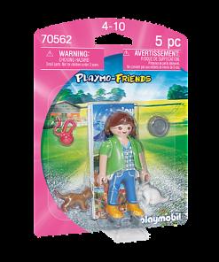 Figurina fetita cu pisici Playmobil 70562
