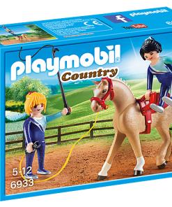 Set viata la tara calarie Playmobil 6933