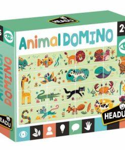 Domino cu animalute Headu 23684