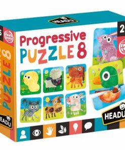 Set 8 puzzleuri progresive Headu MU23936