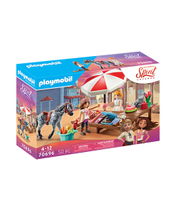 Set stand de prajituri Miradero Playmobil 70696