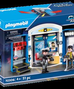 Set statie de politie Playmobil 70306
