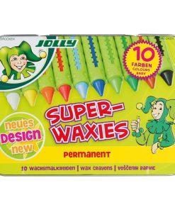 Creioane cerate Superwaxies permanente Jolly 5955-0015