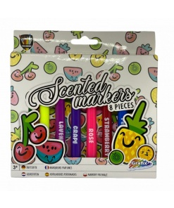 Set 8 markere parfumate Grafix 150015
