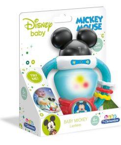 Lanterna interactiva baby Mickey baby Clementoni 17335