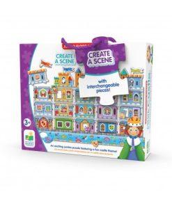 Puzzle doubles! Creaza scena unui Castel The learning journey 234884