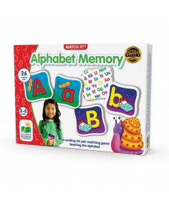 Match it! Memorie alfabet - The learning journey 192474