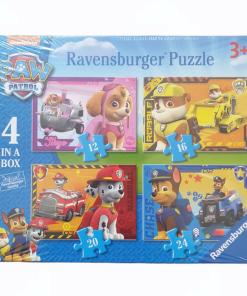 Puzzle 4 in 1 Catelusi in actiune Ravensburger 07 033 6
