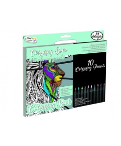 Carte de colorat cu creioane Craft Sensation CR0459