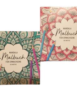 Carte de colorat Mandala Craft Sensation CR0305