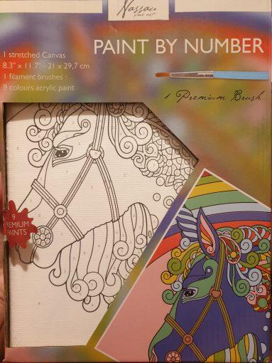 Set pictura pe numere Unicorn Art Sensations AR1020