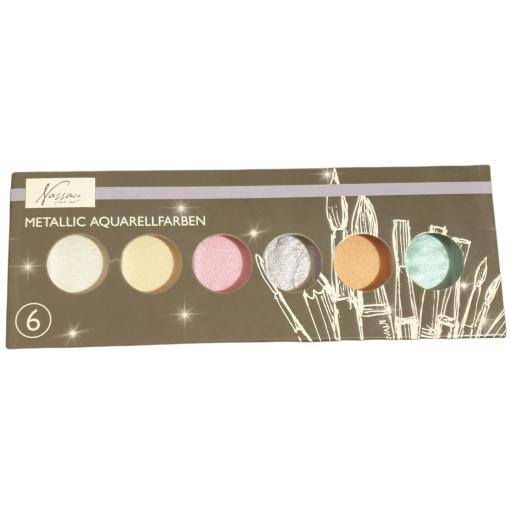 Culori acuarela metalice Craft Sensations AR0501